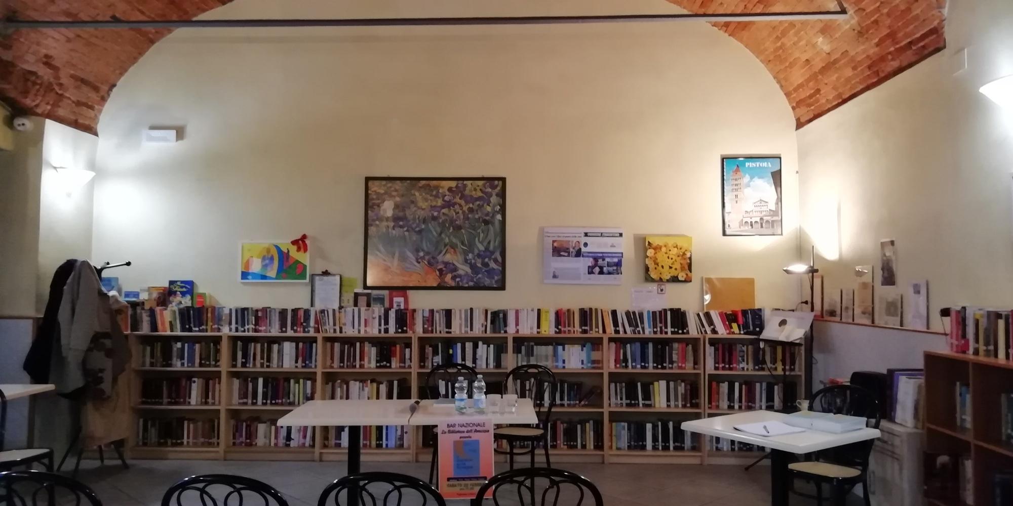 Gabriele Levantini Bar Nazionale Pistoia Biblioteca dell'Amicizia presentazione Il Giardino sulla Spiaggia Racconti da un lontano viaggio interiore